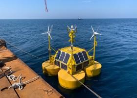 해상풍력발전을 위한 라이다 설치